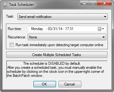 TaskSchedulerEmailNotification