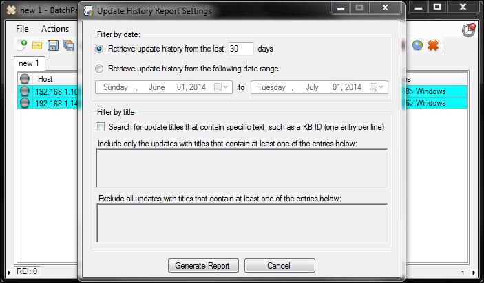 BatchPatch_ConsolidatedUpdateHistoryReport