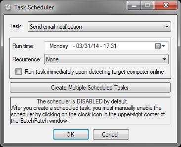 TaskSchedulerEmailNotification