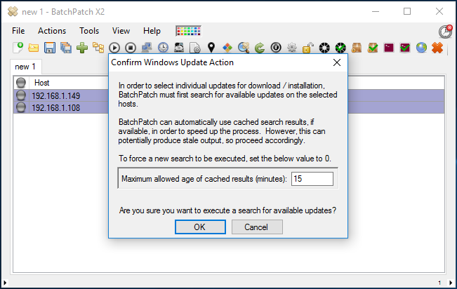 Filter Which Available Updates Are Included Or Excluded When