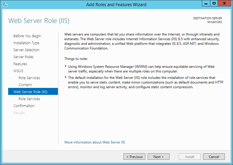 How to Setup a New WSUS Server from Scratch on Windows