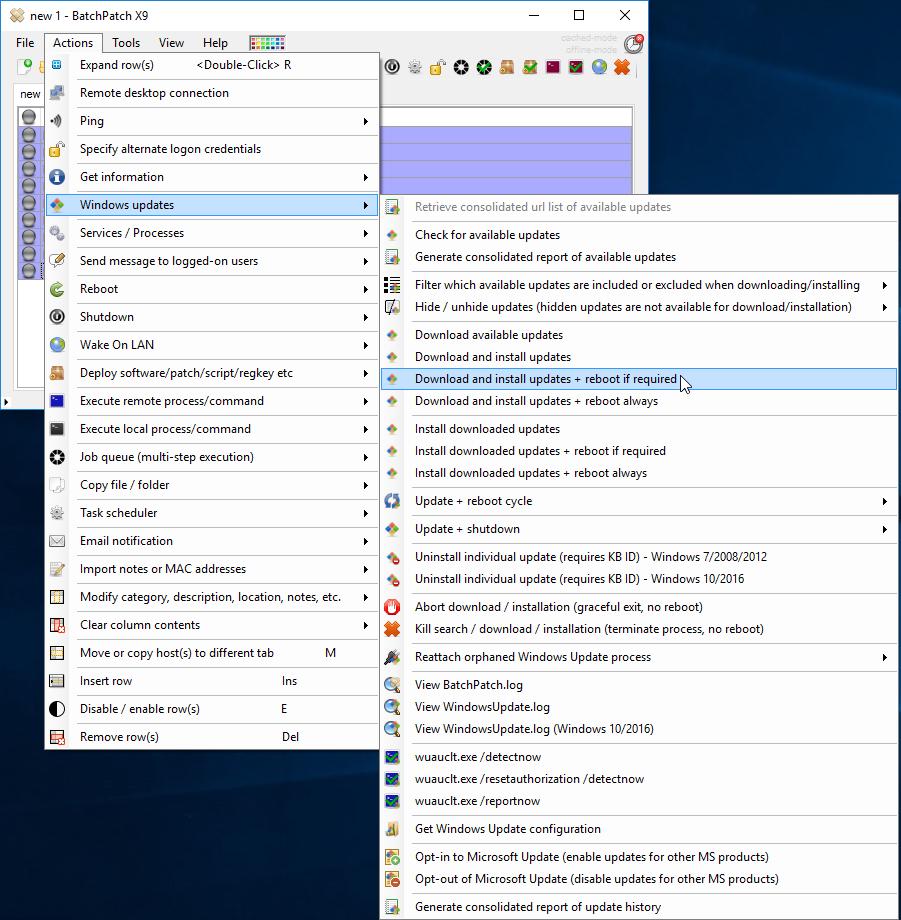 Batch Install Windows Updates | BatchPatch - The Ultimate Windows