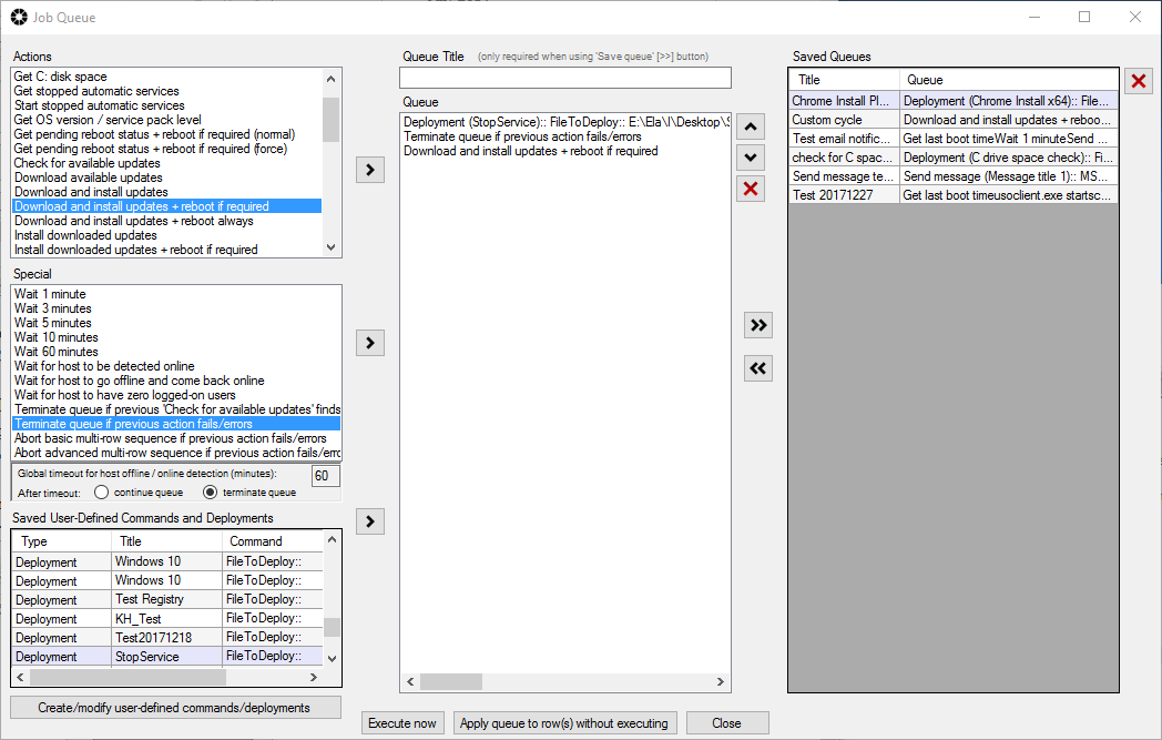 BatchPatch Custom Script Integration - Install Windows