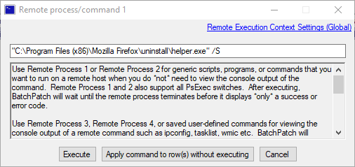 Remotely Uninstall Firefox from Multiple Computers | BatchPatch
