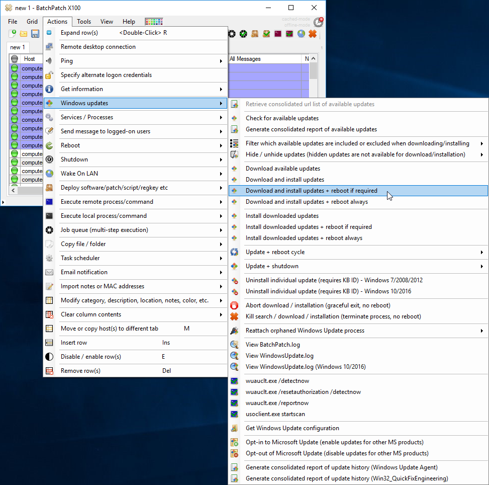 Windows Update Management Tools | BatchPatch - The Ultimate